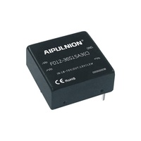 10W Power Module Input 48V(18-75V) to Single Output 15V 667mA, 10W 1x1 Inch DIP Isolated DC to DC Convertors