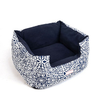 Factory price wholesale washable large pet dog bed ice cool beds