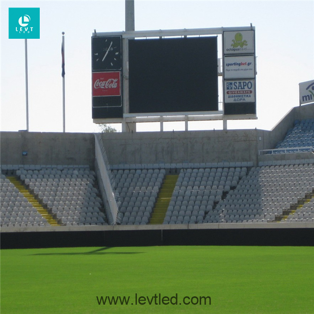 Levt football stadium <strong>led</strong> banners outdoor waterproof <strong>ad</strong> panel backstage <strong>display</strong> curtain large video