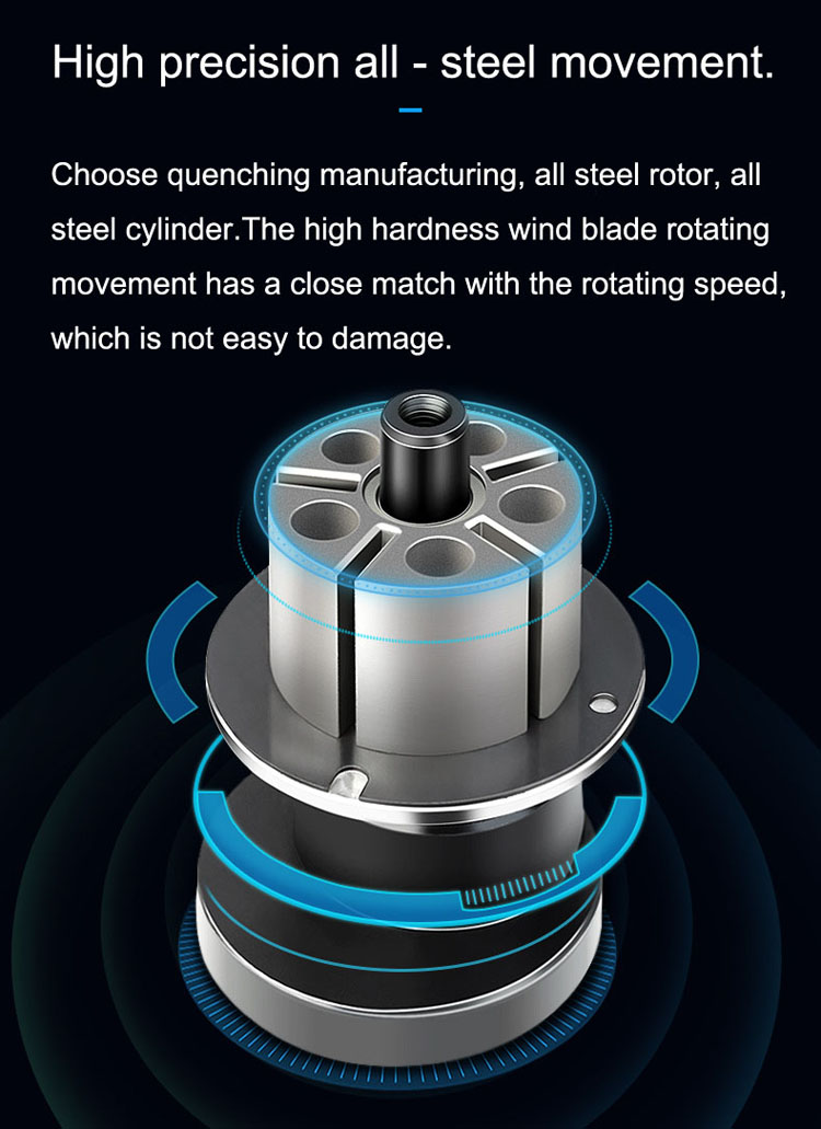 Durable service before good grinding results track double acting car polisher machine orbital sander