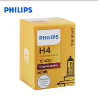 Original Philips H4 60/55W P43t 12342 C1 Halogen Headlight Auto Part Led Headlight Bulbs