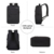 Unisex Travel Casual USB Charger Laptop Bag Smart USB Port Backpack