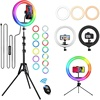 /product-detail/10inch-colourful-led-ring-light-for-live-stream-makeup-youtube-video-beauty-phone-tiktok-selfie-with-tripod-led-ring-light-1600094933317.html