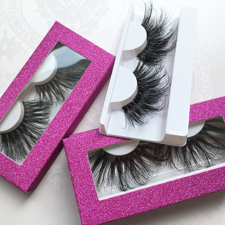 Extra big and dramatic 25mm 30mm lashes so gorgeous 3d 5d 30 mm mink eyelashes with glitter paper box