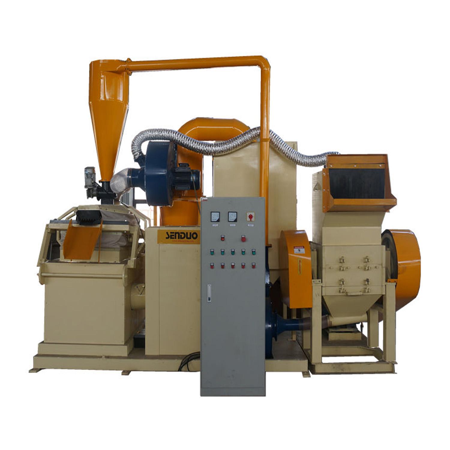 VANER Metal Metallurgy Machinery Scrap Copper Wire Processing <strong>Equipment</strong>
