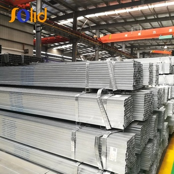 ERW Hot Galvanized Square Galvanized Steel Tube/Steel Pipe