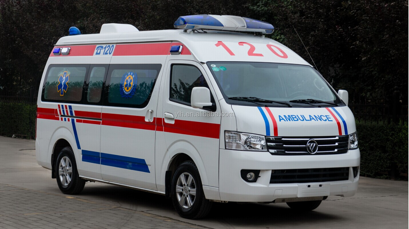 Foton icu ambulance car price vehicle