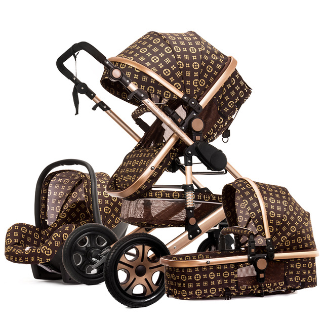 luxury <strong>Baby</strong> Car Umbrella Light Summer Cart Buggies Folding Trolley Stroller <strong>baby</strong> 3 in 1