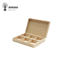 HONGDAO wooden box round wooden box for essential oils wooden box <strong>flat</strong> pack