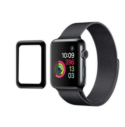 Case Friendly 3D Full Glue Tempered Glass Screen Protector For Apple Watch series <strong>1</strong>