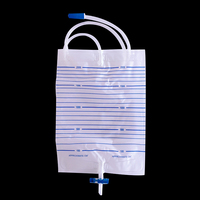 Best Price disposable Medical Device urine collector bag with t-tap outlet valve