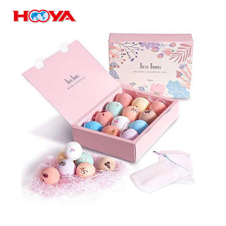 Wholesale 12PCS New Colorful Fizzy Bath Bombs Scented Fizzy Spa To Moisturize Dry Skin Spa Gift Set