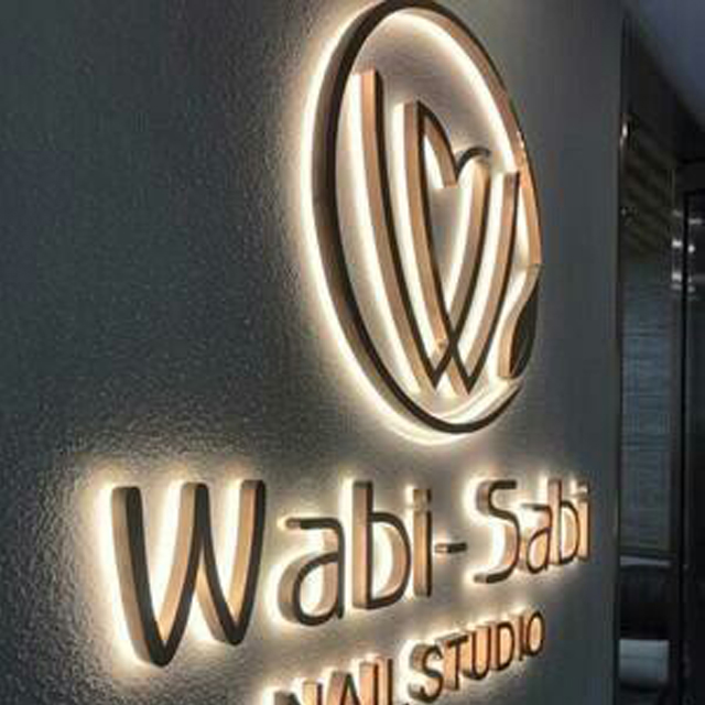Office wall letrero business <strong>signs</strong> backlit metal logo signage lighted commerical 3d e lighting letters led sign