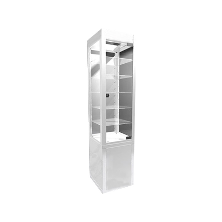 2020 NEW fashion design glasses display showcase with Glass Shelves