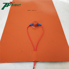 Excellent heat driveway conductivity silicone rubber mat