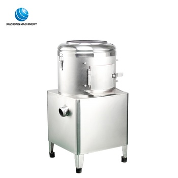 Commercial electric potato peeling machine automatic potato washing and peeler machine for home