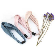 <strong>Hair</strong> Silk Head Wraps Elastic Silk Hairband Headband For Women <strong>Hair</strong> <strong>Accessories</strong>