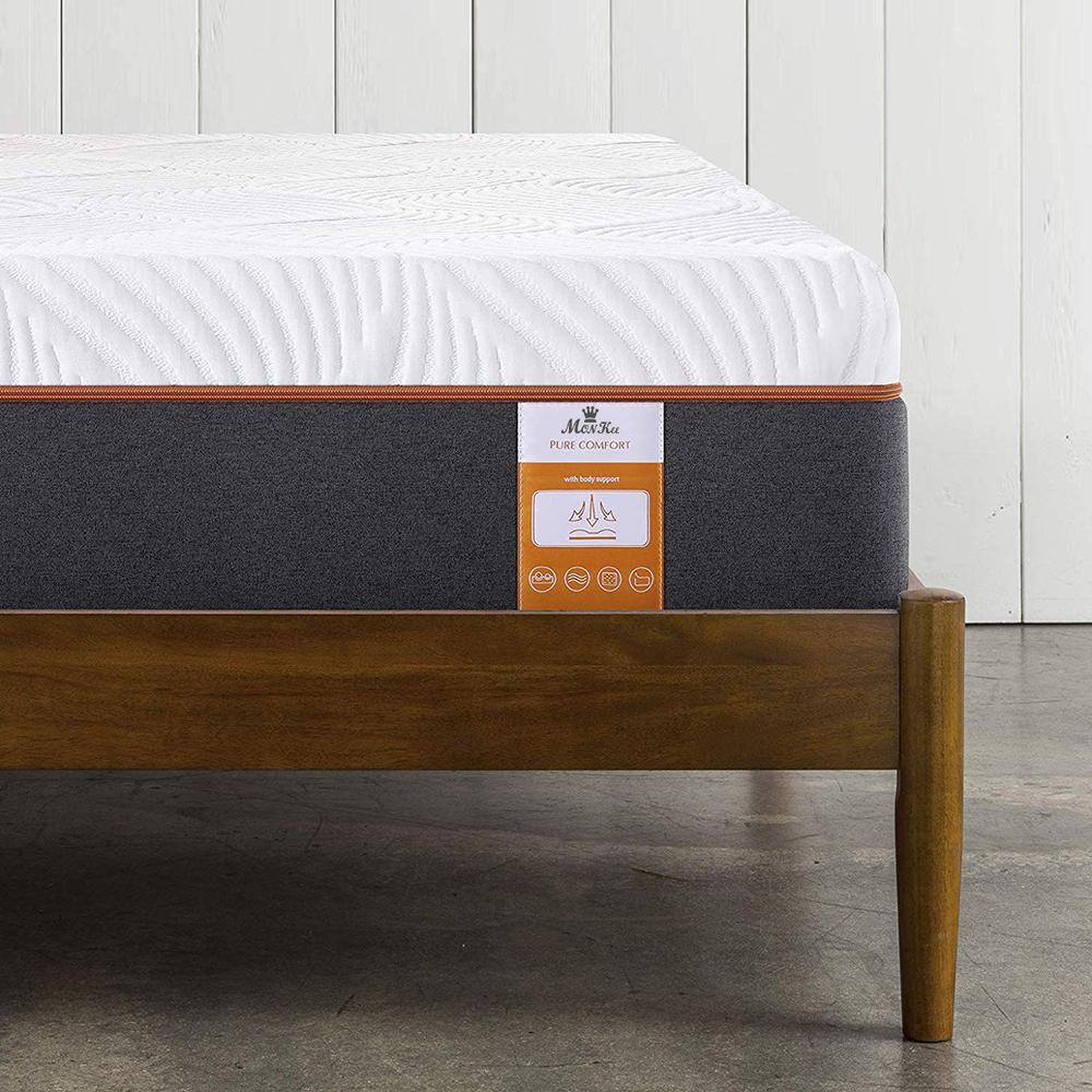 10 inch Top Mattress Beds with Gel Infused Memory Foam and Memory Foam, Queen Size - Jozy Mattress | Jozy.net