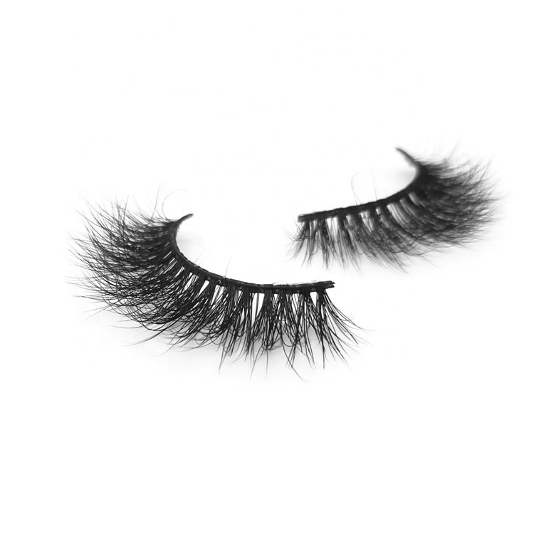 Natural looking <strong>100</strong>% Hand Made Strip Eyelashes 5D Real Mink Lashes with Private <strong>Label</strong> ZX16