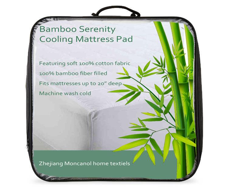 Cheap Price soft Cooling mattress pad bamboo memory foam mattress topper - Jozy Mattress   Jozy.net