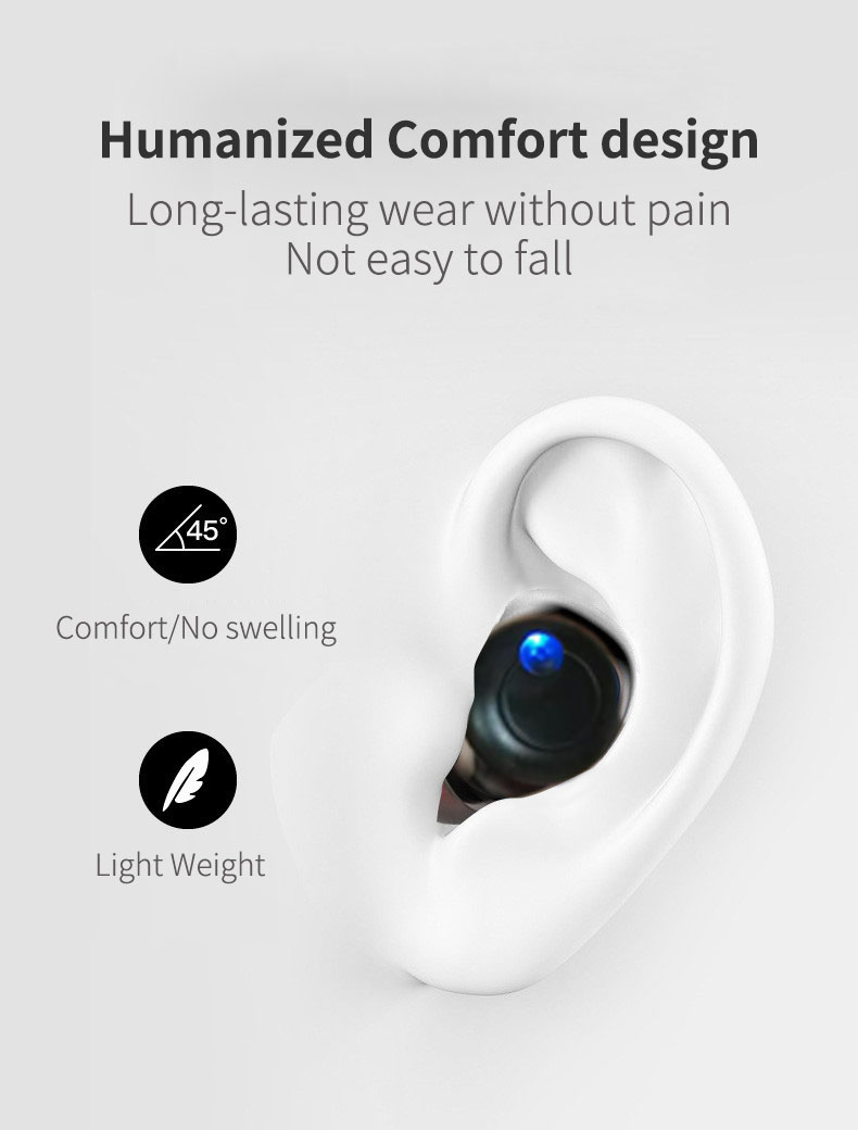 Unique 2in1 wireless speaker single earphone bluetooths earbuds