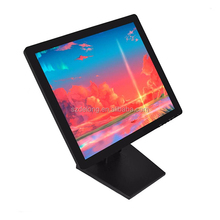 15&quot; resistive touch screen lcd industrial <strong>monitor</strong> free shipping