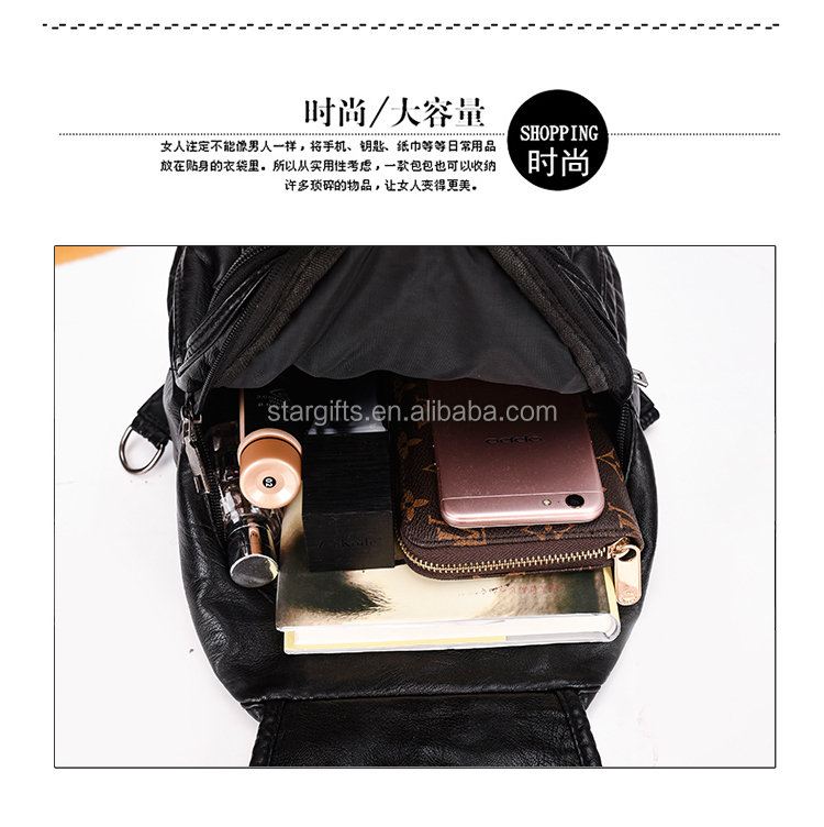 Fashion Design Colorful Rainbow Waterproof Girl Silicon Backpack Waterproof  Kids Backpack for Girls