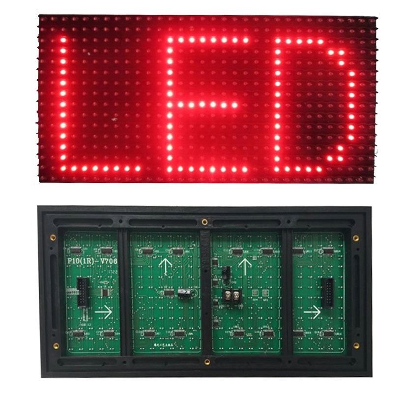 <strong>P10</strong> led module single color <strong>p10</strong> <strong>1r</strong> outdoor led display module