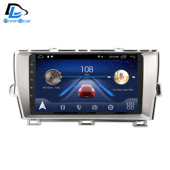 4G Lte Android 9.0 Car multimedia navigation GPS DVD player For TOYOTA prius left drive IPS screen Radio stereo