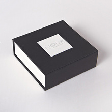 Manufacturers custom own brand high quality black <strong>double</strong> cover open eyelash packaging box