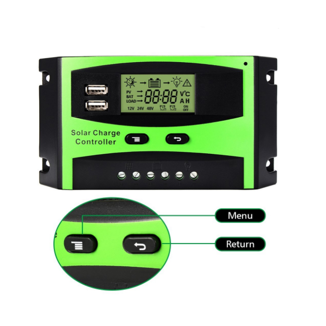 Ce rosh 12v 24v 20 amp intelligent led digital temp <strong>charge</strong> <strong>controller</strong> pwm solar panel <strong>controller</strong>