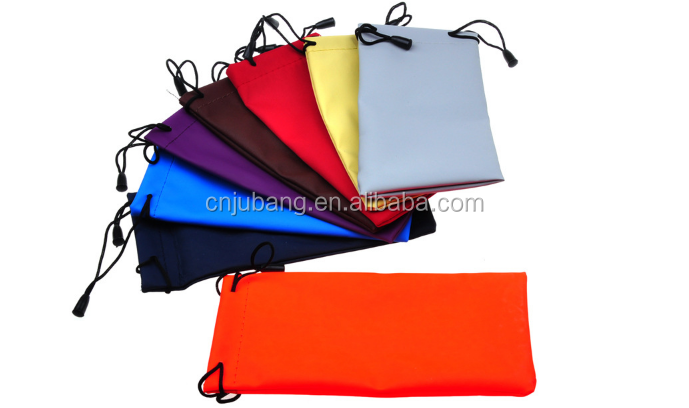 High quality sunglass pouch for glasses bag / Microfiber Sunglasses Pouch / glasses storage bag