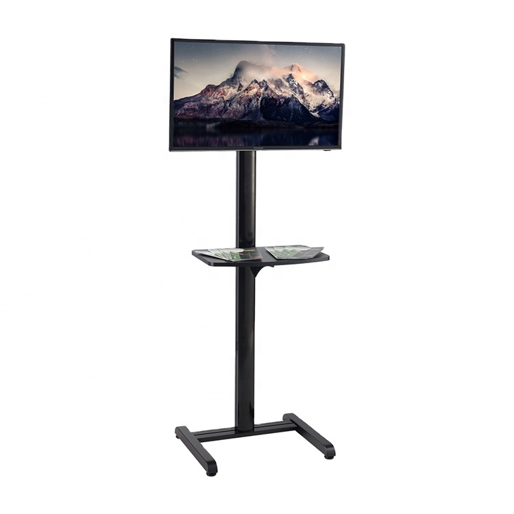 Portable Digital Signage TV Display Floor Stand For 17&quot; to 40&quot;, Advertising Display Rack For <strong>Retail</strong> or Shop Setting
