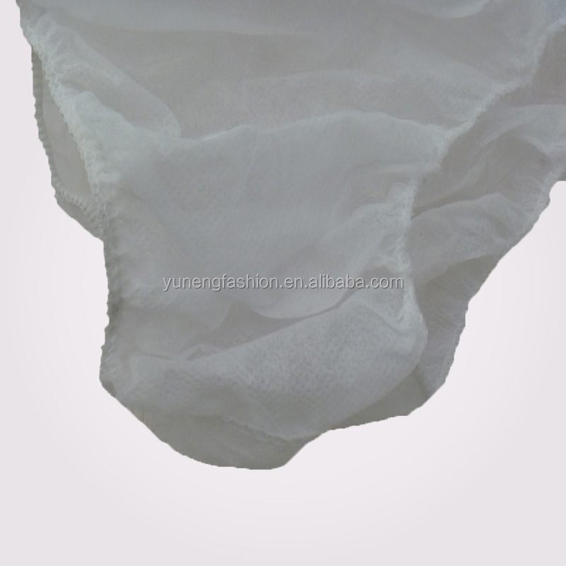 Disposable underwear beauty salon sweat steam bath spa Thong thickened non-woven paper underwear period panties