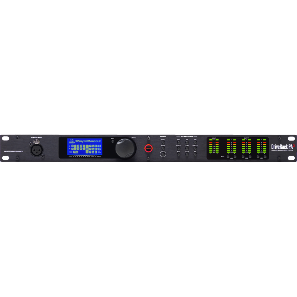 <strong>D</strong>.<strong>B</strong>.X Digital Audio Processor PA2 2 Input 6 Output Professional Audio Processor stage performance audio processor