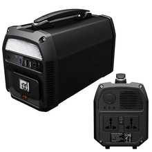 IFORWAY 500watt 1000watt solar portable power generator with DC12V USB outlets for camping
