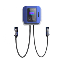 Ark CE Certified 30kW Wallbox DC Fast Charging Stations for Electric Vehicles with RFID, OCPP 1.6J, 4g and CCS CHAdeMO Outlets