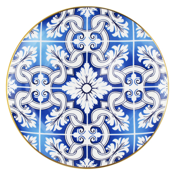 High quality food contact safe ceramic under dish fine bone China serving plates for weddings