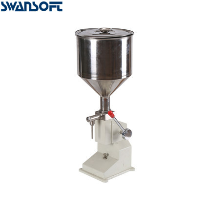 Swansoft <strong>A03</strong> manual filling machine Manual Nail Polish Shampoo Filling Machine 5~50ml for Cream Shampoo Cosmetic Liquid Paste