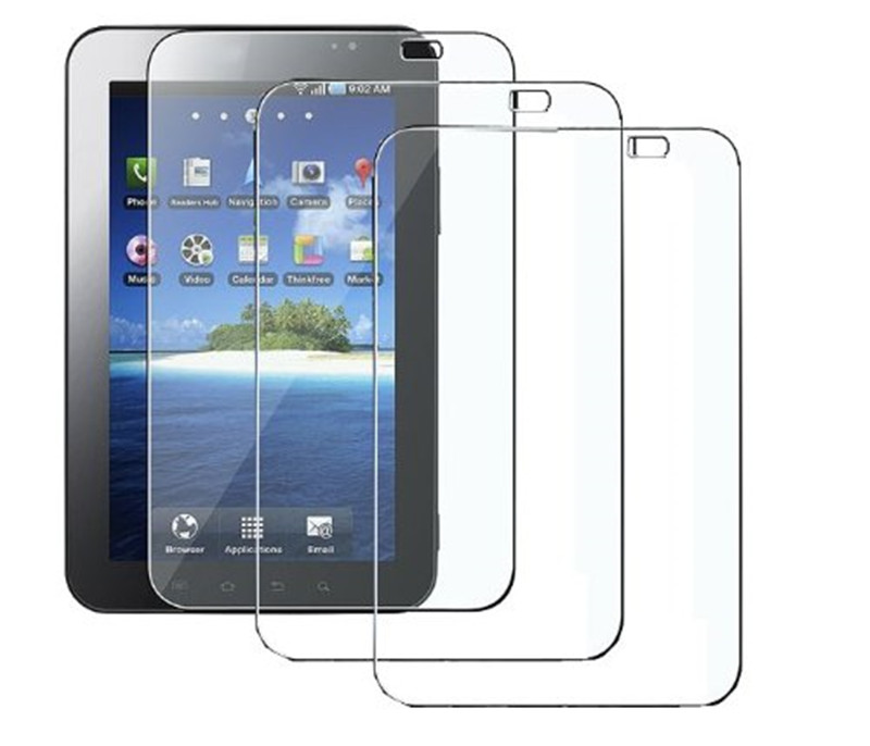 Super Clear Screen Protector with Cleaning For Samsung <strong>GALAXY</strong> <strong>Tab</strong> <strong>P1000</strong> Tempered Glass