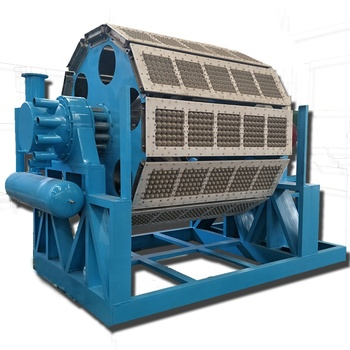 Automatic Pulp Production Line Small Making Waste Paper Recycle Used Egg Tray Machine