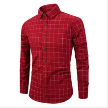Wholesale <strong>Men</strong> Casual <strong>Shirts</strong> Vintage Long Sleeve Check Cotton Plus Size Tuxedo <strong>Men</strong> <strong>Shirt</strong>