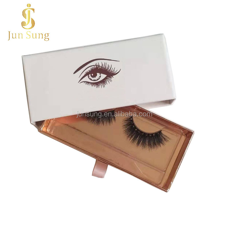 Silk Synthetic False Private Label Eyelash Cruelty Free Vegan 3D Faux Mink Eyelashes