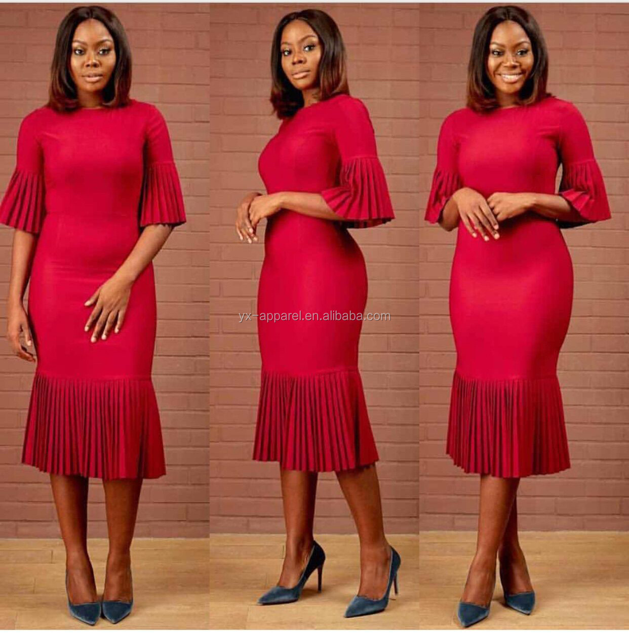 Ladies sexy night turkey long dress for african women