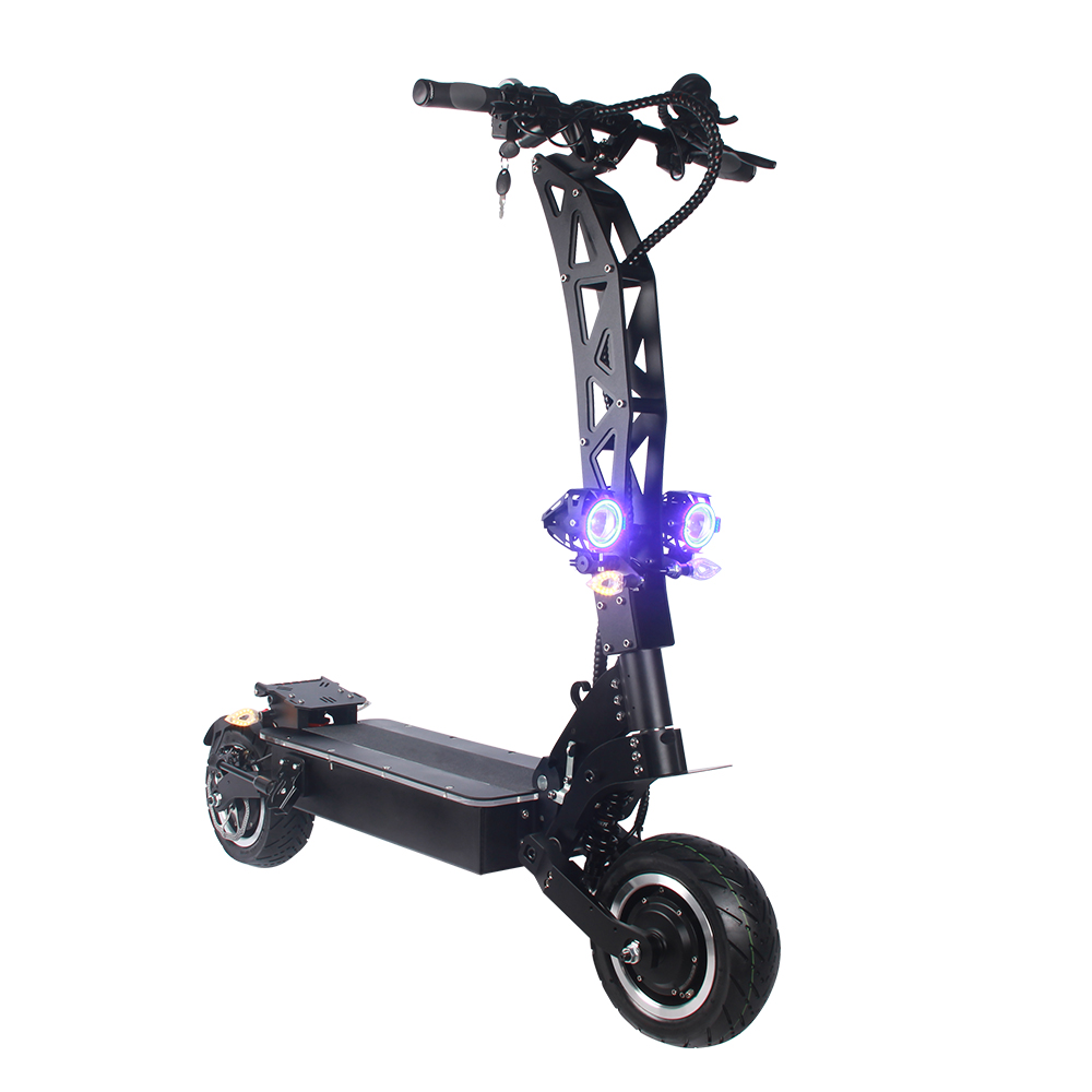 Electric scooter with powerful Dual Motors-72V 7000W &amp; high speed <strong>100</strong> km/<strong>h</strong> the Oil Pressure Disc brakes