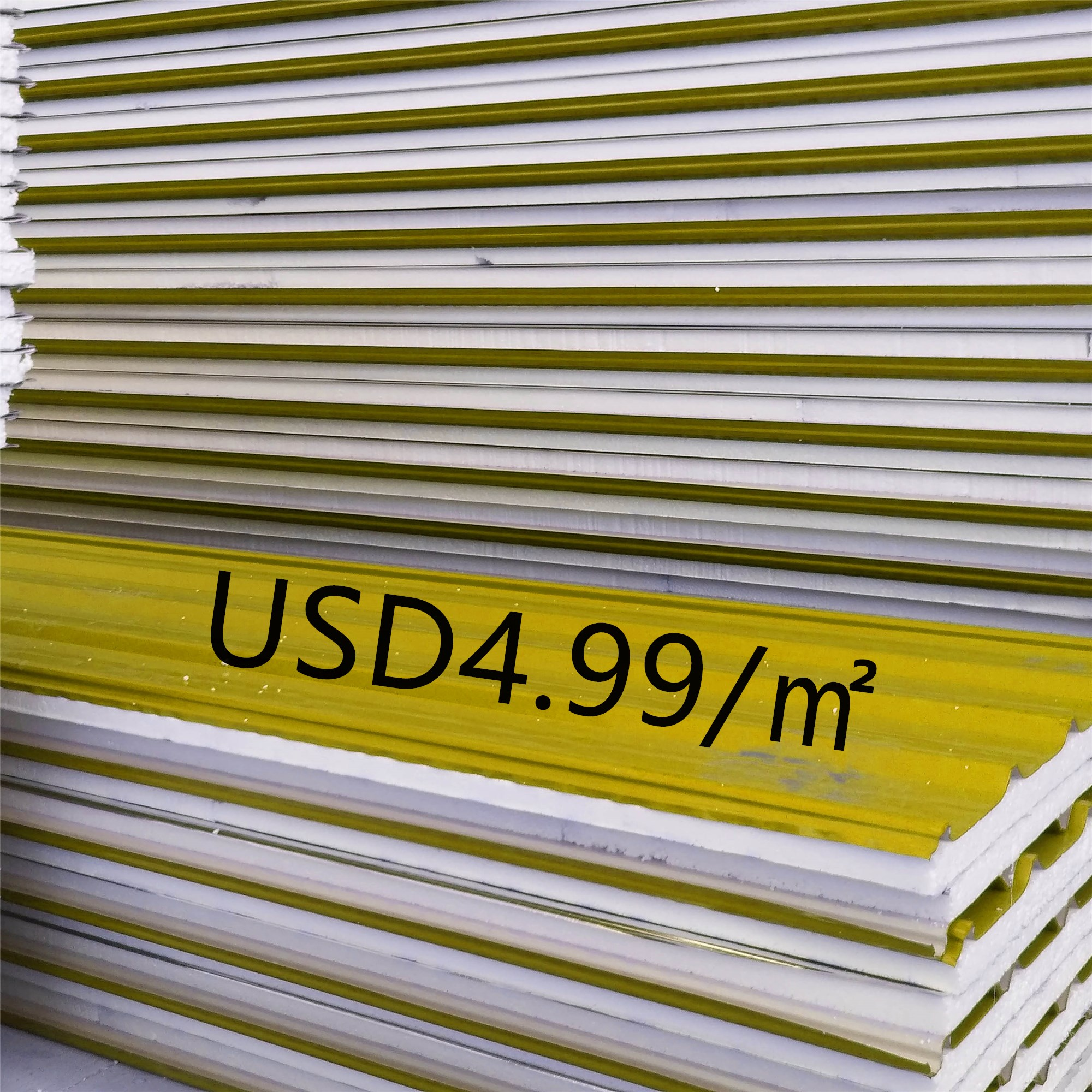 color steel insulated EPS sandwich <strong>panel</strong> for roof and wall