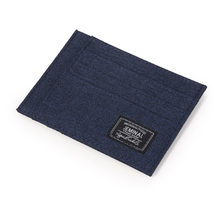 Wholesale custom korean nylon canvas card holder <strong>wallet</strong>
