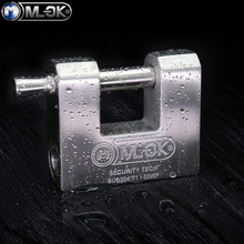 MOK Container Heavy Duty Master <strong>Key</strong> Anti Cut Anti Saw Antique Stainless Steel Padlocks Set