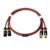 Fanmusic ZY ZY-393 hifi Palic4 core double shield cable female to male gold connector balanced xlr cable
