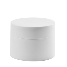 White color round shape 50g skin care cosmetics <strong>containers</strong> and packaging cream jar